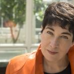 Writer Joanne Harris at Gliterary Lunch Leeds 5 Nov